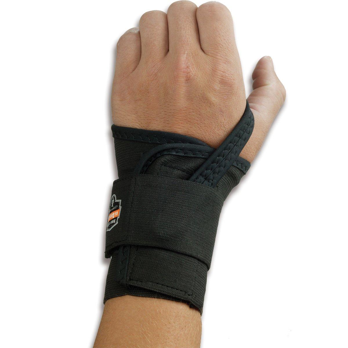 Ergodyne ProFlexMe 4000 Single Houston Mall Strap Black Right Support sale Wrist