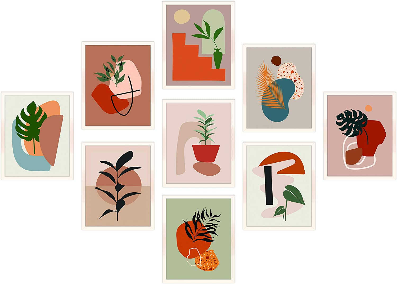 organic, neutral artwork - $10