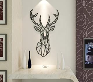 Acrylic Wall Stickers, 3D Crystal Wall Decals- The Art Deer 26*43 inch