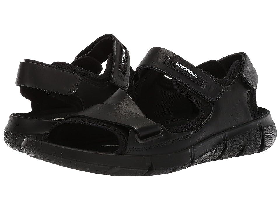 ECCO Intrinsic Sandal 2 (Black/Black) Men