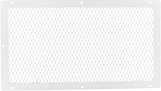 HY-C VG1018G-1W Galvanized Steel Foundation VentGuard with White Wildlife Exclusion Screen, 10