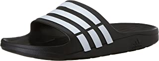 Duramo Slide Sandal,Black/White/Black,19 M US Women's/17 M US Men's