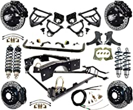 NEW RIDETECH COILOVER SYSTEM WITH WILWOOD DISC BRAKES,CONTROL ARMS,SPINDLES,FRONT SWAY BAR,13