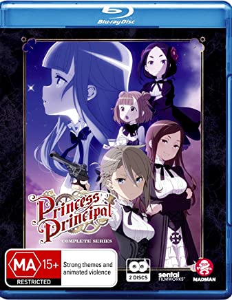 Princess Principal Complete Series | Anime | NON-USA Format | Region B Import -