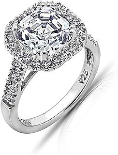 [アマゾンコレクション] 人工 シルバー Ag925 婚約指輪 JER00542_110CL06JD00 11号