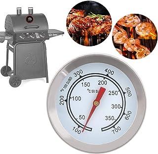 Emoshayoga 100~700 ℉ con termometro per Barbecue a Doppia Scala con quadrante analogico Termometro per Barbecue di Alta qu...