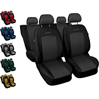 Sitzbezüge grau vorne ELE FIAT PUNTO 2