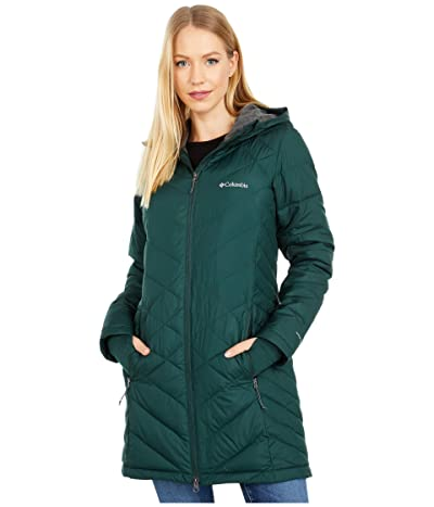 Columbia Heavenly Long Hooded Jacket (Spruce) Women