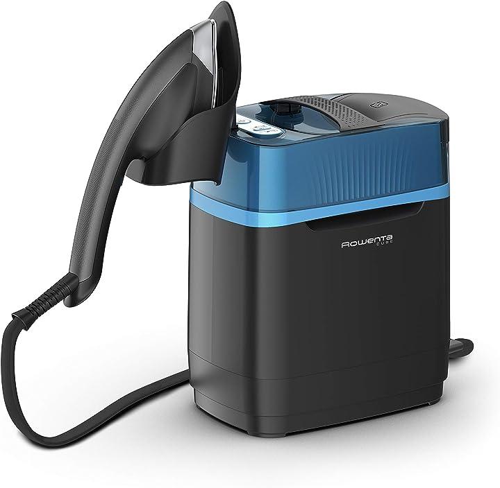 Ferro da stiro con caldaia ad alta pressione sanifica e uccide virus e batteri rowenta ur2020 cube UR2020