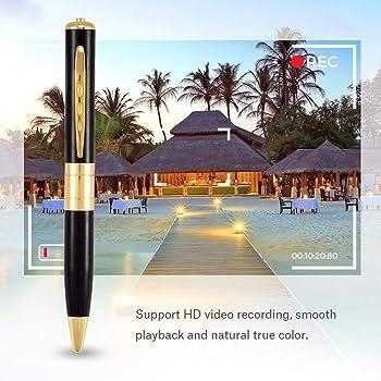 NEXTDEAL PRO 32 GB Audio/Video Full HD Pen Camera (Updated Model 2020)