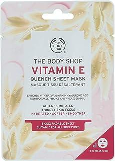 The Body Shop Vitamin E Quench Sheet Mask - 0.6 oz Mask