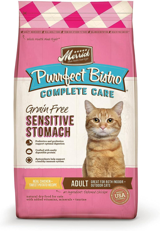 Merrick Purrfect Bistro Complete Care Recipe Max 85% OFF Sensitive Stomach D Ranking TOP13