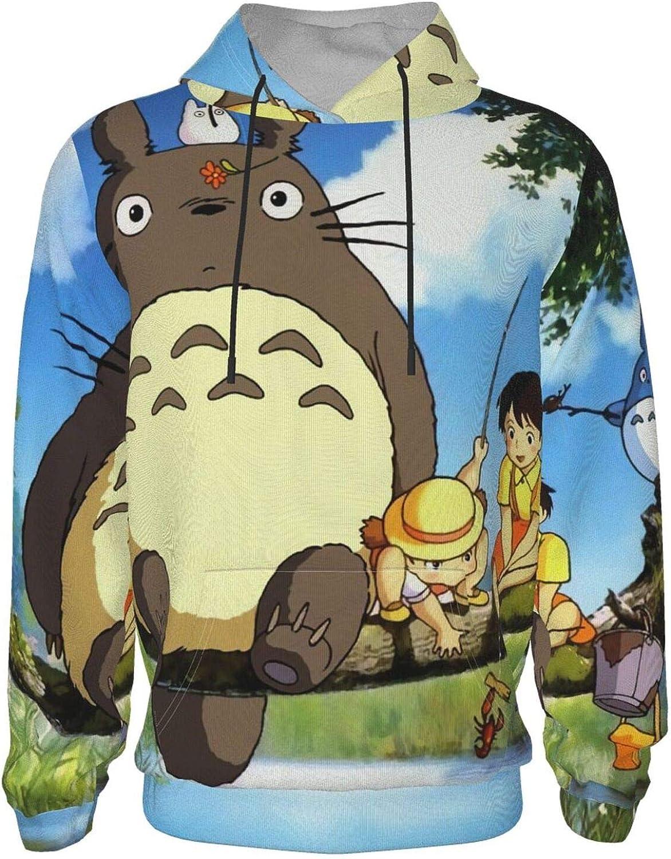 JobsertJSalazar My Neighbor Totoro 3D Printing Youth Hoodie Fashion Teen Hooded Sweatshirt