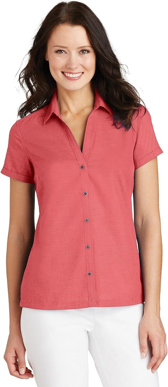 Port Authority Textured Camp Shirt (L662)