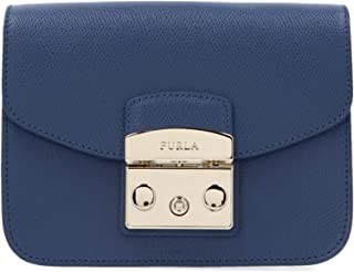 Luxury Fashion   Furla Womens 1021980 Blue Shoulder Bag   Fall Winter 19