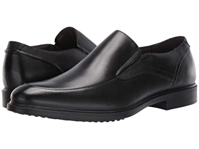 Hush Puppies Turner MT Slip-On (Black Waterproof Leather) Men