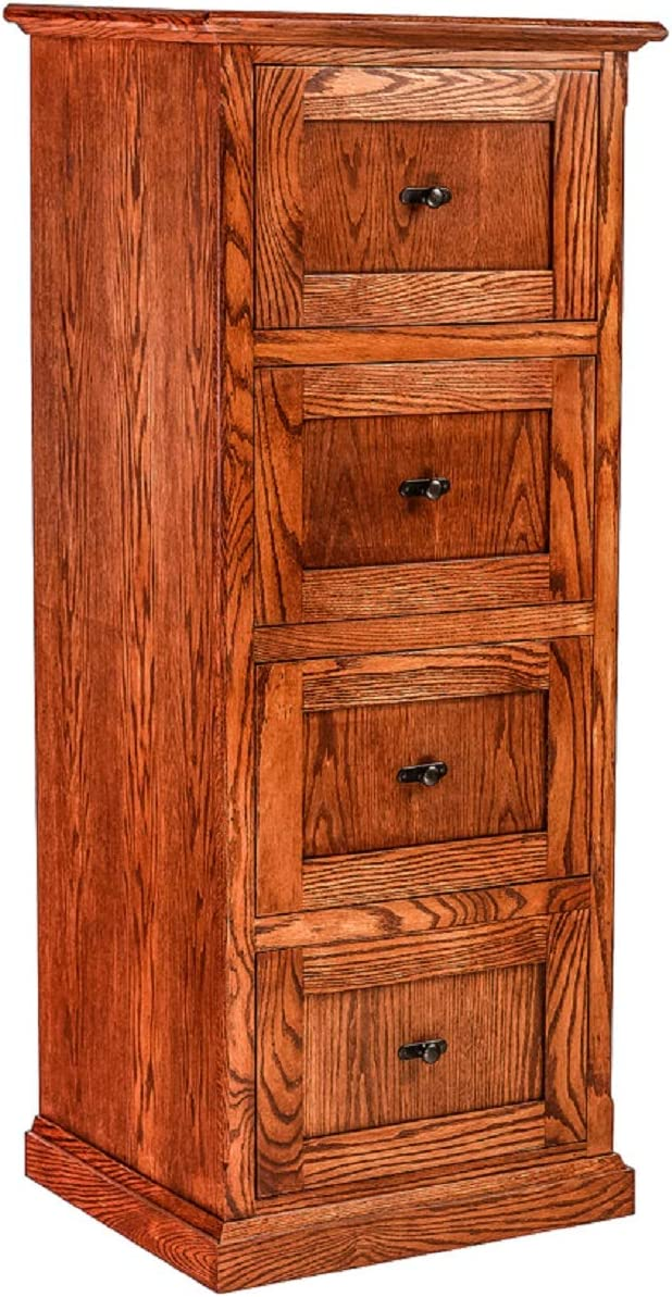 Forest Designs File Cabinet Surprise price 22w x 56h 21d Award Red Oak