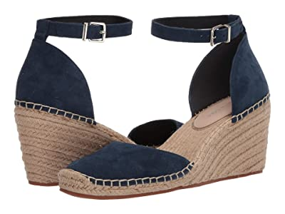 Kenneth Cole New York Olivia Low Closed Toe (Marine Suede) Women