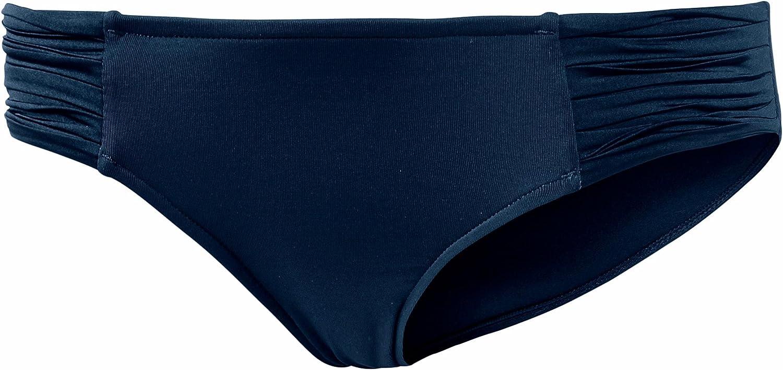 Seafolly Women's Pleated Hipster Bikini Bottom Swimsuit
