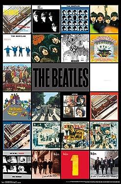The Beatles - Albums Poster (24x36) PSA034211