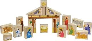 Nativity Block Set (White Box) - Made in USA