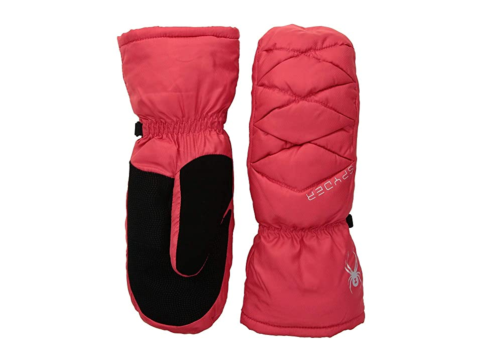Spyder Candy Down Mitten (Hibiscus/Black/Black) Extreme Cold Weather Gloves