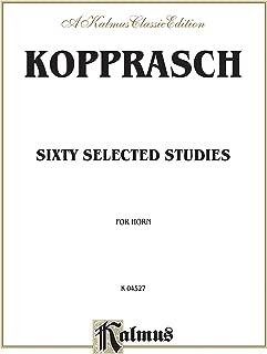 kopprasch 60 selected studies for french horn