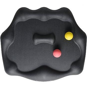 """Eazeemats Extra Large Standing Desk Mat Not-Flat Anti Fatigue Mat Comfort Mat With 2 Rubber Massage Balls For Height Adjustable Converter Stand Up Desk(28""""X24.5""""X2.6"""",Black)"""