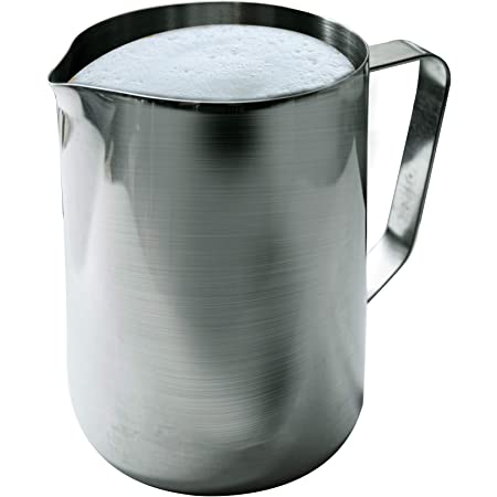 20 Oz Stainless Steel Frothing Pitcher, Silver, EP-20