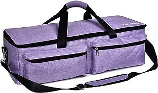B BAIJIAWEI Carrying Bags for Cricut Explore - Cricut Accessories Storage Bag, Travel Bag for Cricut Explore Air, Cricut Explore Air 2, Cricut Maker (Purple)
