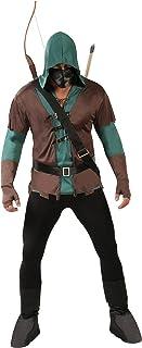 Guirca- Disfraz adulto arquero, Color marrón, Talla 52-54 a