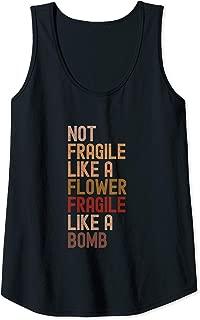 not fragile like a flower tank