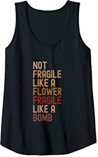 Best not fragile like a flower tank Reviews