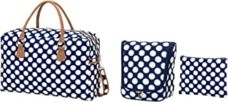 22 x 14 Polyester Travel Bag Hanging Case Zip Pouch Assortment Set