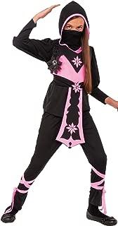 Rubie's Child's Pink Crystal Ninja Costume, Large