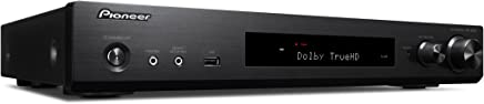 Pioneer VSX/W Slimline AV Receiver (80W Per Channel, Versatile Streaming, WiFi & Bluetooth, HDCP, 2.2APPC ontrol, Friendly Remote–Black