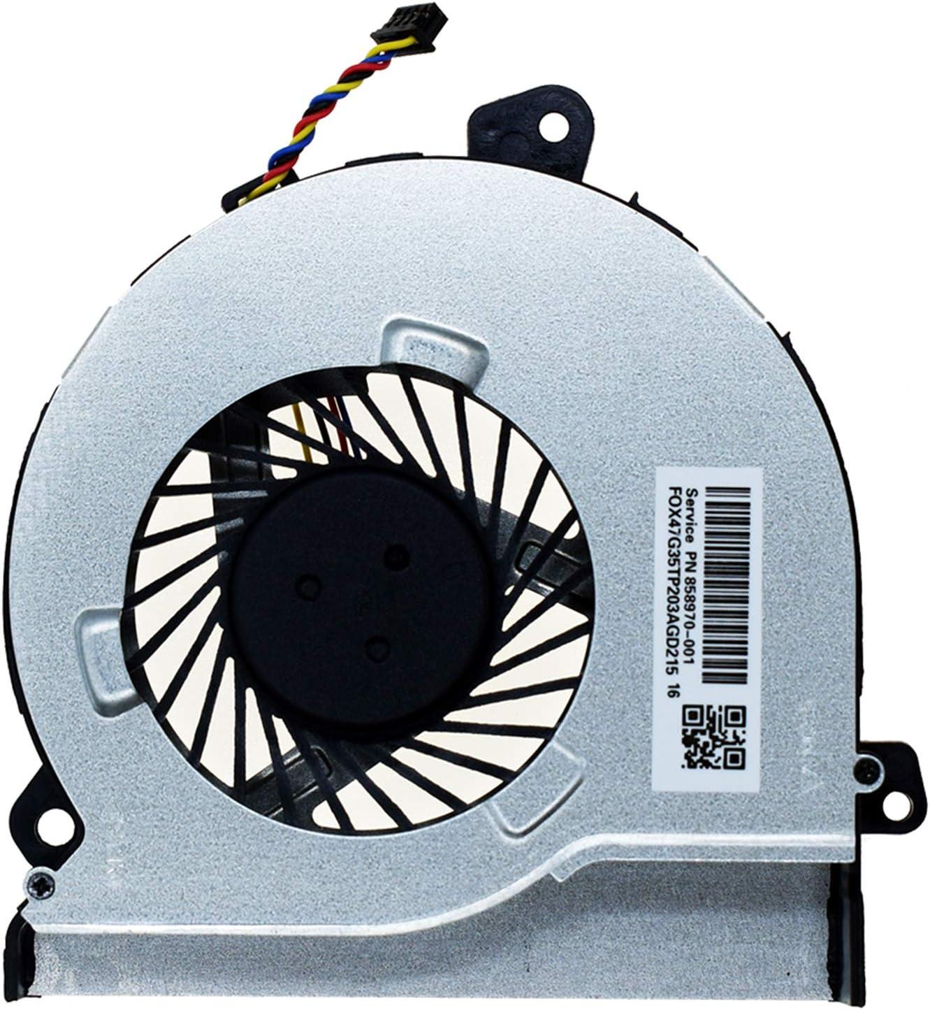 DREZUR CPU Cooling Fan Outlet SALE for H Pavilion Inventory cleanup selling sale Laptop 15-AK Cooler Series