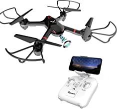 DROCON 2019 Upgraded Training Drone for Beginners with Real-time Video, Wi-Fi FPV Quadcopter with Headless Mode, One-Key Return, Easy to Fly (Newest)