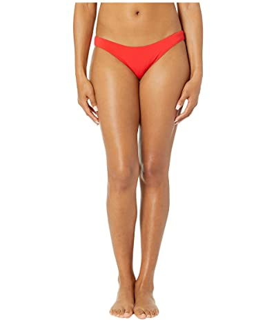 Robin Piccone Ava Clean Finish Bottoms (Fiery Red) Women
