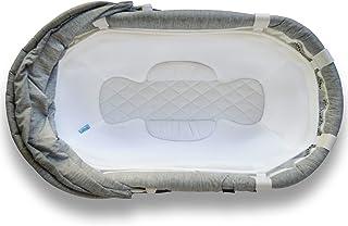 MySnuggly Newborn Bassinet Insert for Bliss Bassinets   Safe Real Cuddling Feeling for Better Sleep   Patent Pending
