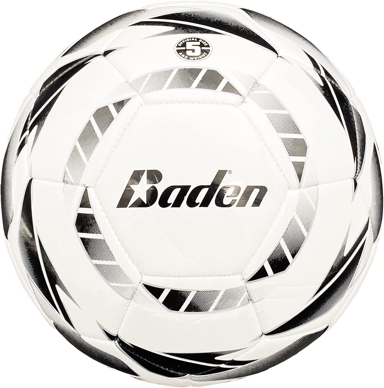 Baden Z-Series Size 3 Cushioned TPU Detroit Mall Leather Max 44% OFF Soccer W Ball Black