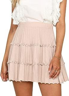 flared tulle skirt