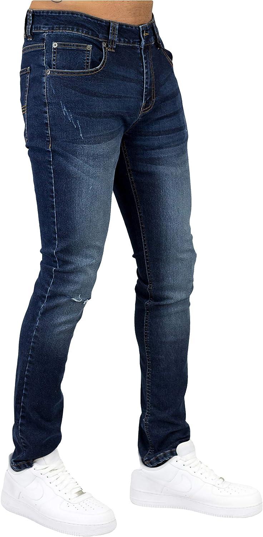 Bleecker and Mercer Men's Stretch Basic Skinny Denim Finally popular brand Fit Atlanta Mall Jean Pa