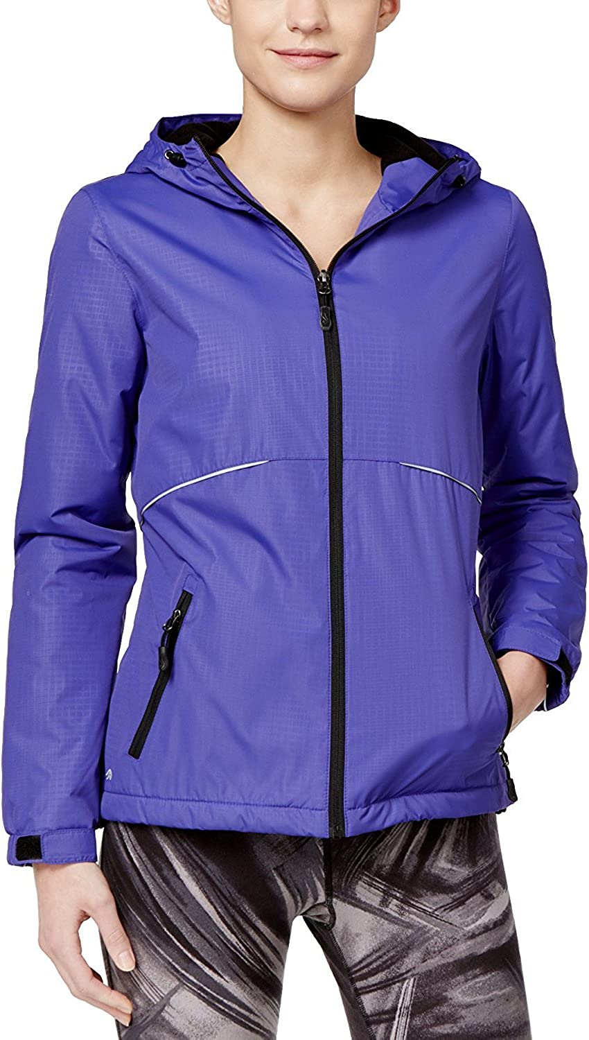 Ideology Womens Hooded Outerwear Jacket