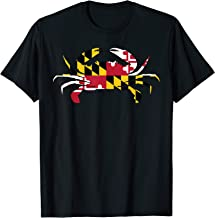 Best maryland flag t shirts Reviews