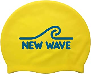 New Wave Swim Cap - Silicone Swim Cap Swim Buoy