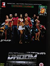 Dhoom 1, Dhoom 2, & Dhoom 3, & Special Features (Special Action Packed Edition, 4 Disc Tin Set, All with English Subtitles, Released By YRF Films)