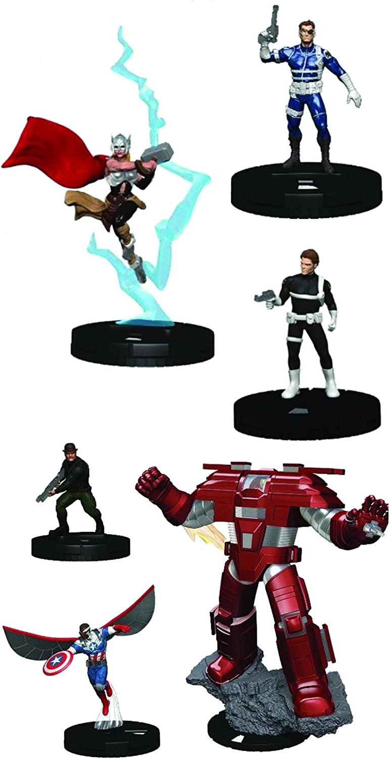 Marvel HeroClix: Nick Genuine Free Shipping Fury Agent of Shield 10-Ct. Booster Sale Brick