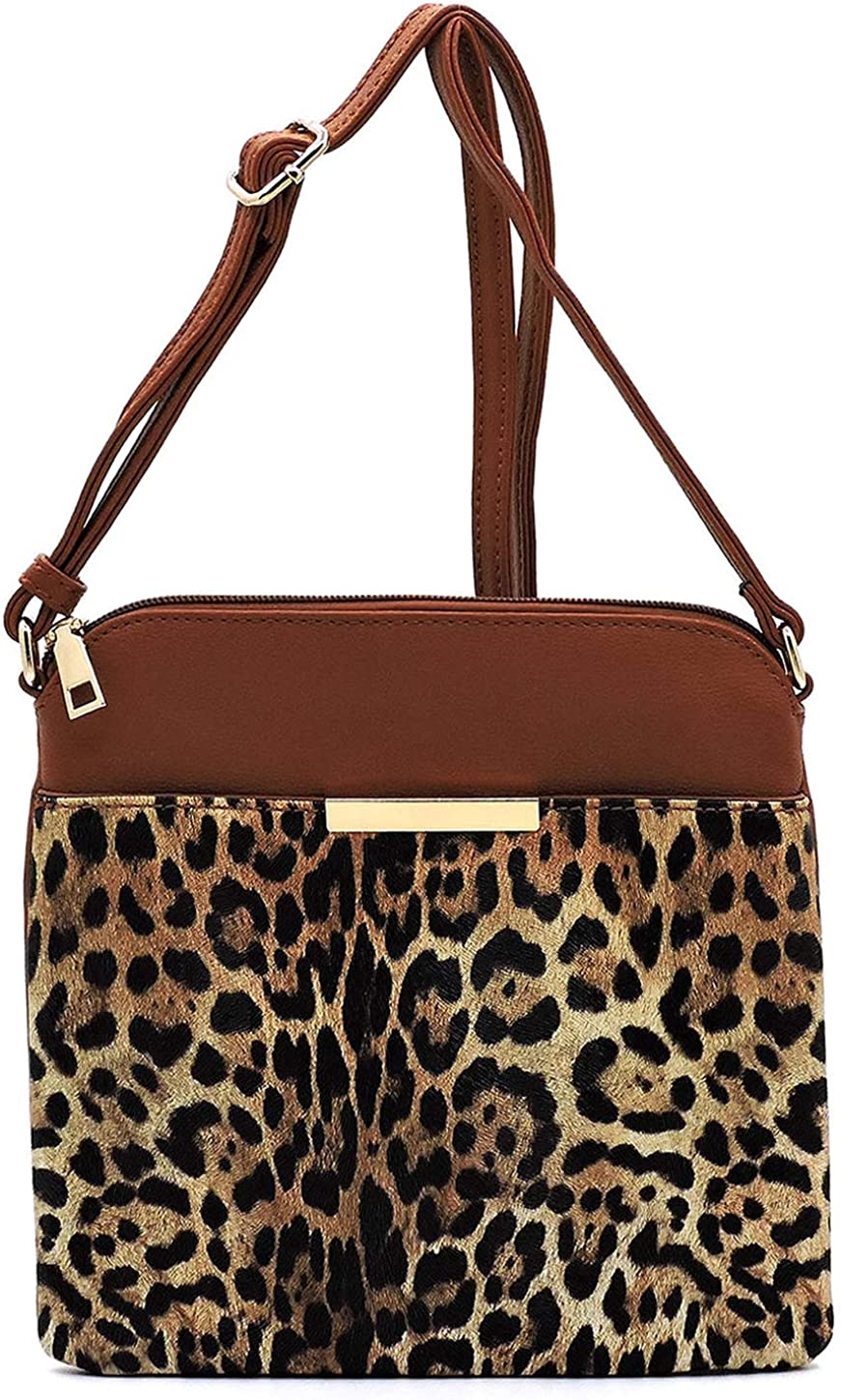 Leopard Print Crossbody Bag Animal Lowest price challenge Max 71% OFF P Womens Printed Shoulder