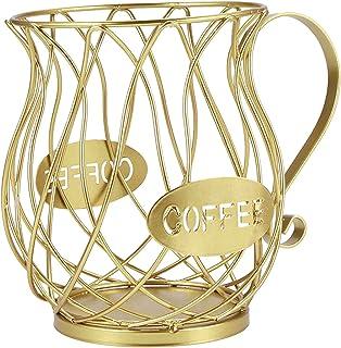MagiDeal Panier de Rangement pour Dosette de Café, Support de Dosette Multiple, Support de Rangement Cuisine Comptoir Conv...